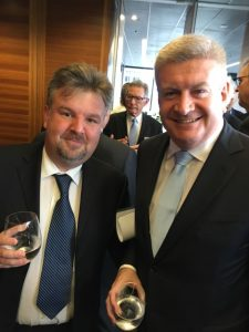 Julian and Mitch Fifield