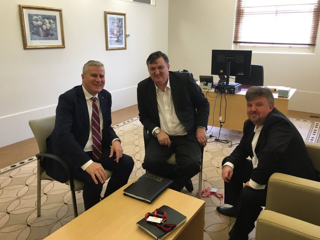 Meeting with Michael McCormack